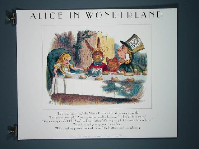 Alice in Wonderland (Tea Party), 1990 Limited Edition