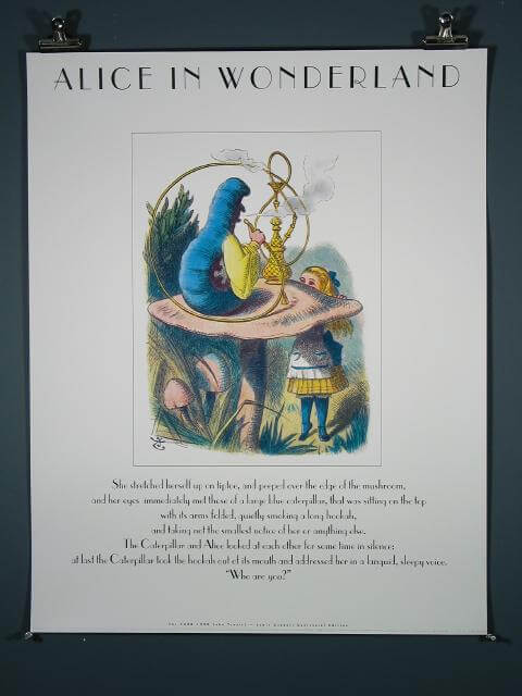 Alice in Wonderland (Caterpillar with Hookah), 1990 Limited Edition