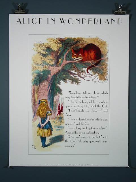 Alice in Wonderland (Cheshire Cat), 1990 Limited Edition